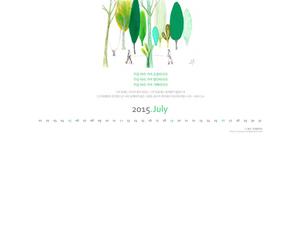 2015년 7월 달력 03