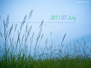 2011년 7월 달력1