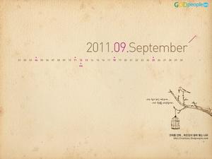 2011년 9월 달력2