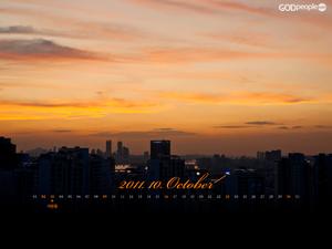 2011년 10월 달력1