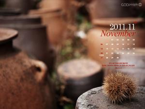 2011년 11월 달력1