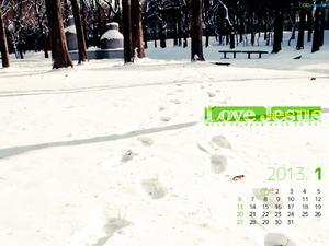 2013년 1월 달력01