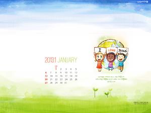 2013년 1월 달력03